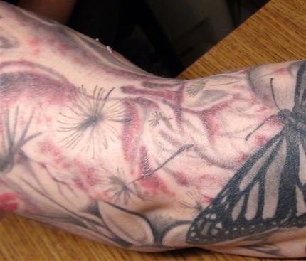Ewww! Warning About Tattoos
