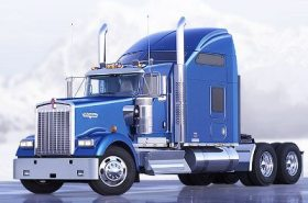 Kenworth W900L Sleeper Cab