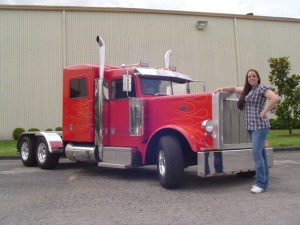 Small Peterbilt Pickup Truck
