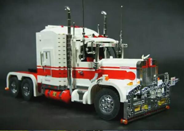 Working Lego Truck