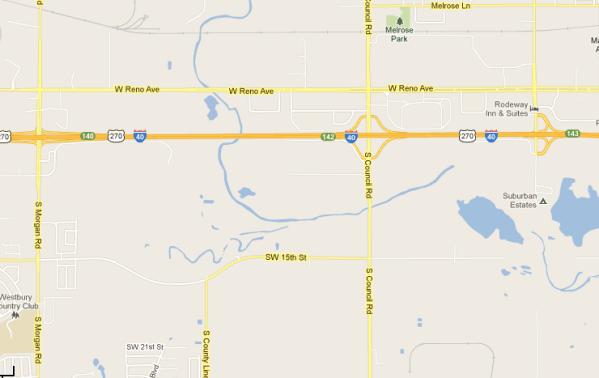 Crash Shuts Down Part Of Oklahoma Highway