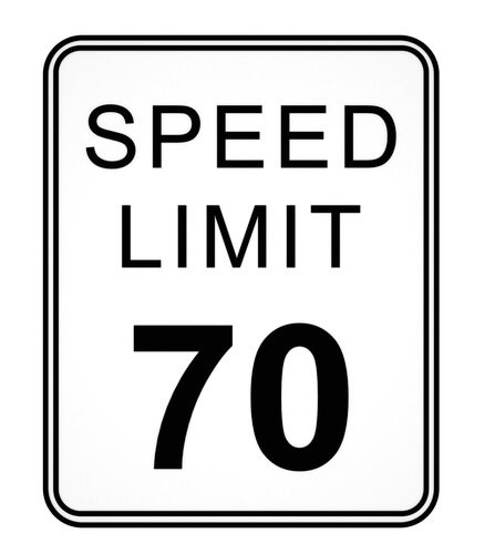 Increased Speed Limit