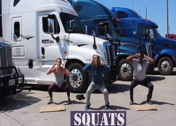 VIDEO: 4-Minute Workouts Geared Toward Truckers