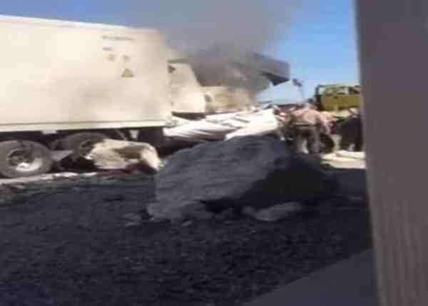 VIDEO: Trucker's Dramatic Rescue Caught On Camera