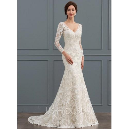 Medium Crop Of Mermaid Wedding Dress