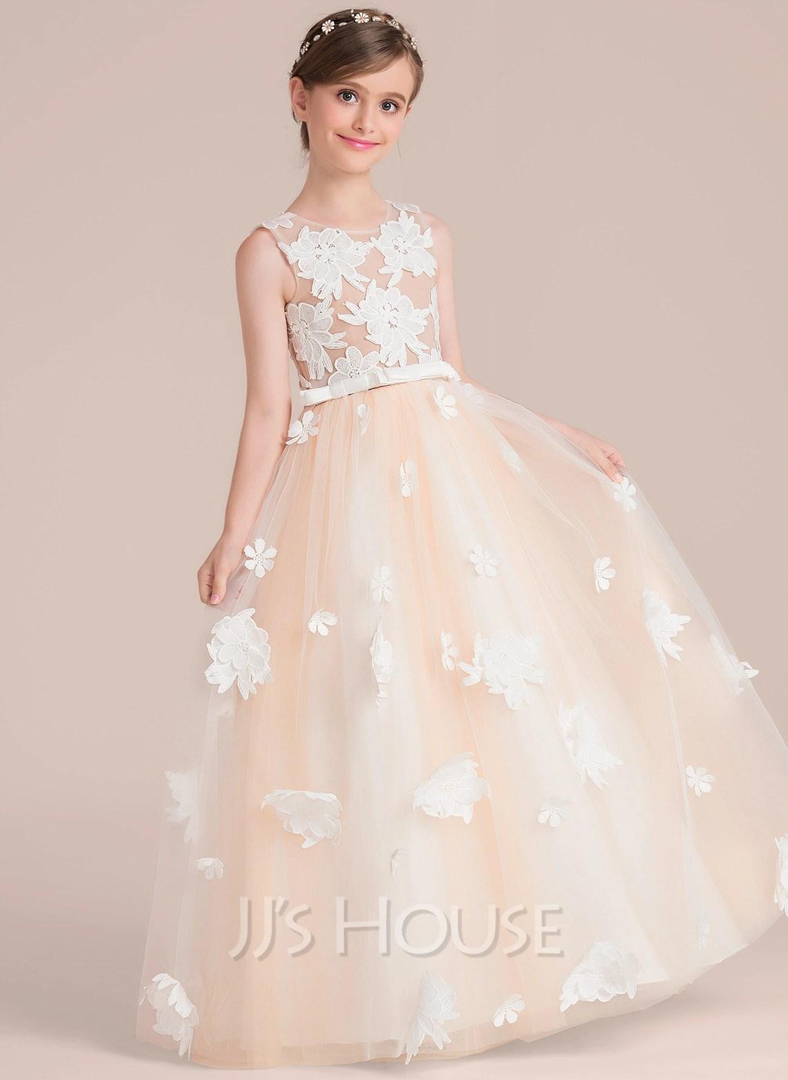 Dainty Ball Gown Flower Girl Dress Loading Zoom Ball Gown Flower Girl Dress Flower Girl Dresses Lace Flower Girl Dresses Amazon wedding dress Flower Girl Dress