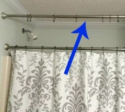 Small Of Tension Rod Curtains