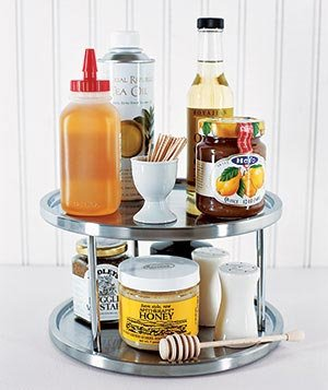 condiments on lazy susan