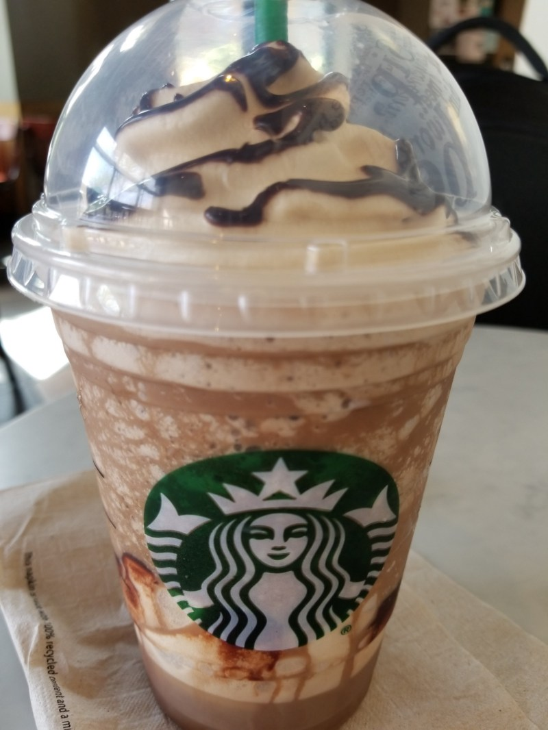 Large Of Ultra Caramel Frappuccino