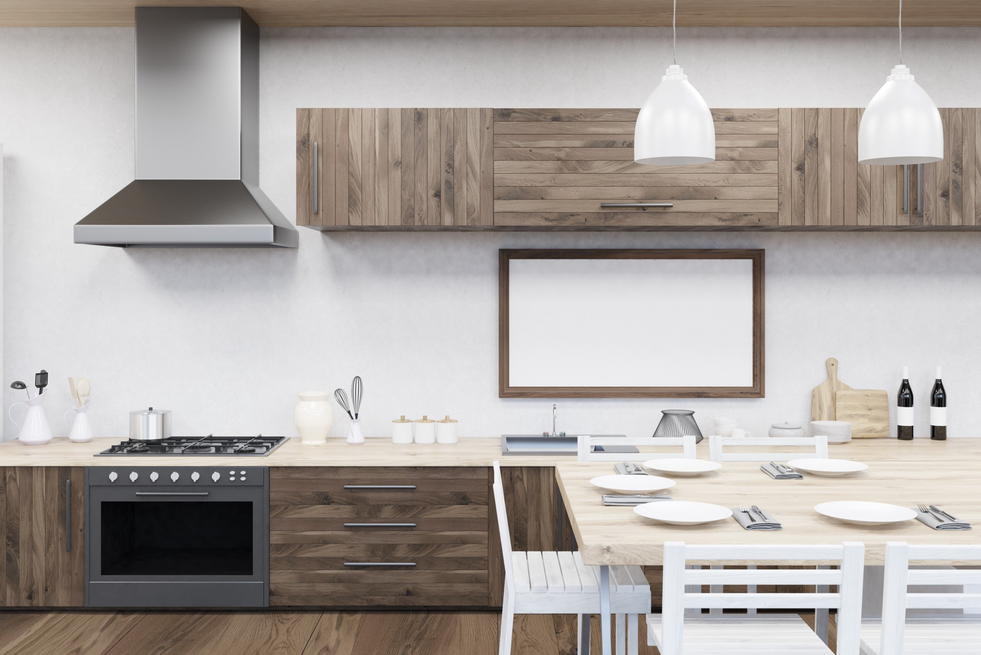 Pretty Are Most Minimal Ofall A Layout All Cabinets Appliances Are Linedup Pros Kitchen Layout Remodelmate Medium Small Spaces One Wall Kitchens Are Designed houzz-02 One Wall Kitchen