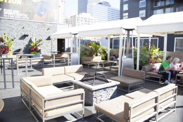 The best rooftop bars in Seattle - Hardrock Cafe