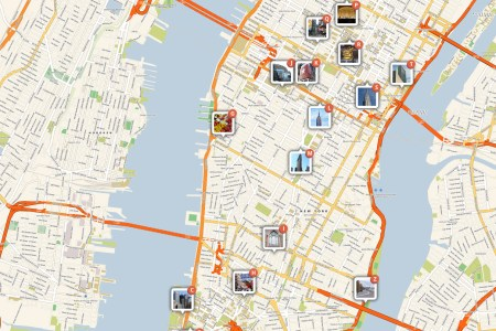 manhattan attractions map large