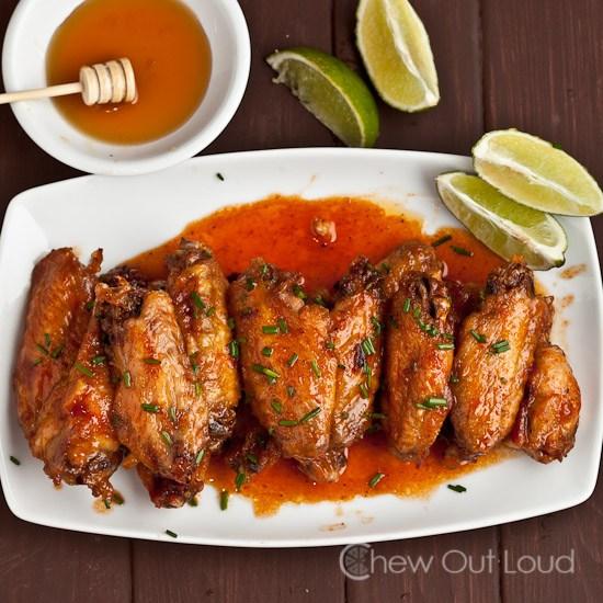 Honey Sriracha Wings