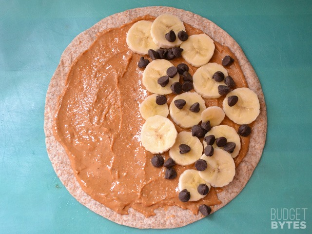 Paleo Dessert Quesadillas with Peanut Butter, Chocolate, and Marshmallow
