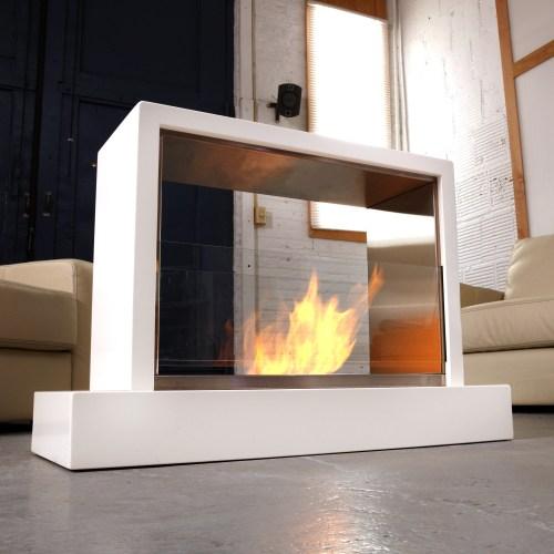 Medium Of Indoor Outdoor Fireplace