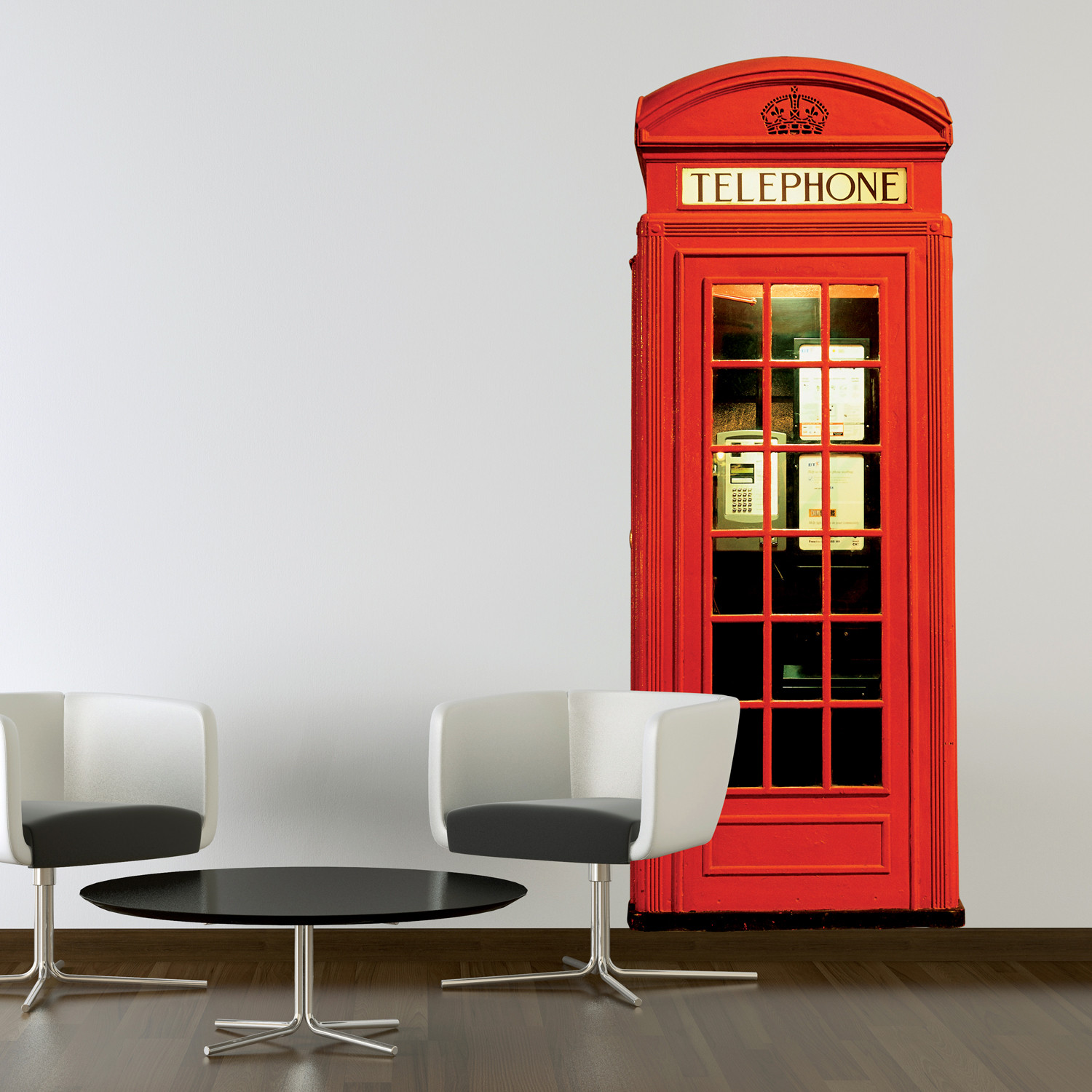 Beautiful Corded Wall Phone Wall Mounted Phones London Phone Box London Phone Box Wall Murals Touch interior Modern Wall Phone