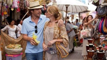 Julia Roberts and Javier Bardem in Eat Pray Love