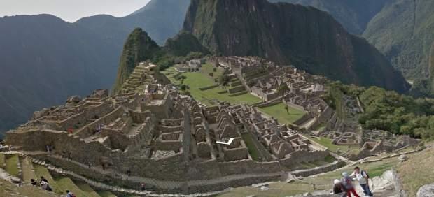 EL Machu Picchu en 'Street View'