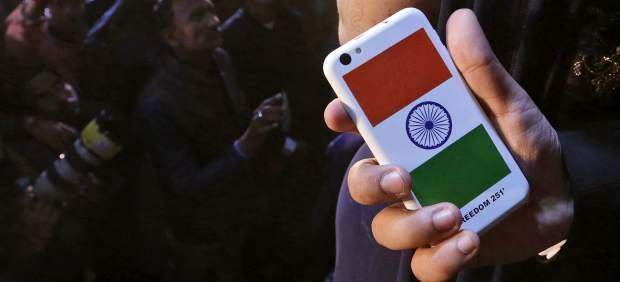 India celular móvil.