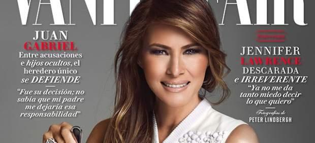 Melania Trump, en la Vanity Fair México