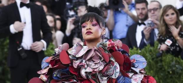 Rihanna en la gala del MET