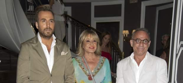 Raúl Prieto, Mila Ximenez y Joaquín Torres en la presentación del libro de Terelu Campos