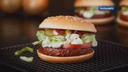 Double To Launch Mcvegan Burger Europe Mcdonald S New Sandwiches Breakfast New Mcdonald S Ken Sandwich