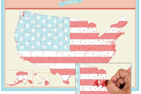 united states scratch map | a mighty girl
