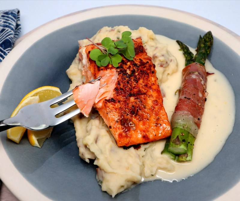 Large Of What To Serve With Salmon