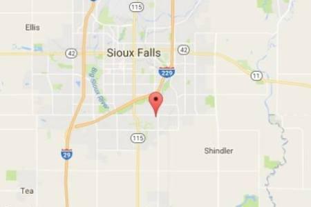 map of souix falls sd