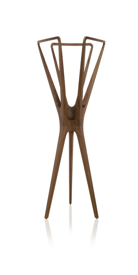 A coat hanger by Almeida. Image courtesy the designer.