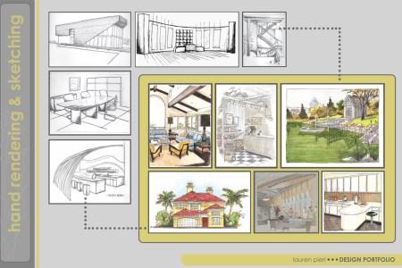 purdue interior design portfolio | lauren pieri | archinect