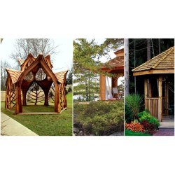 Small Crop Of Garden Structures Ideas