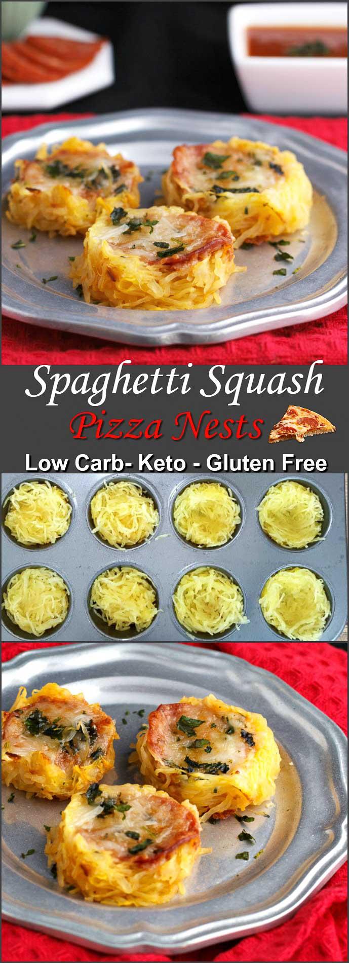 Particular Spaghetti Squash Pizza Nests Beauty Spaghetti Squash Pizza Low Gluten Free Foodie Spaghetti Squash Keto Lasagna Spaghetti Squash Keto Casserole nice food Spaghetti Squash Keto