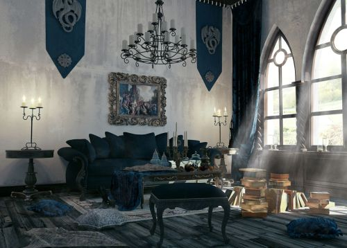 Medium Of Gothic Interior Design
