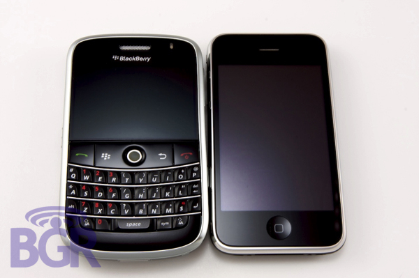 iPhone BlackBerry Android Enterprise