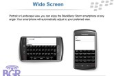 BlackBerry Storm PowerPoint - Image 3 of 17
