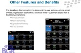 BlackBerry Storm PowerPoint - Image 8 of 17