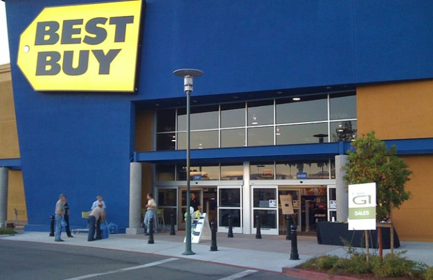 Best Buy Holiday Sales 2012