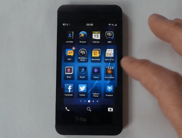 BlackBerry 10 Consumer Survey