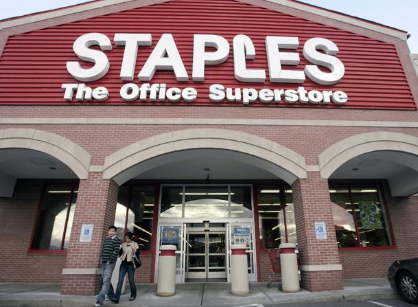 Staples 3D Printer Sales