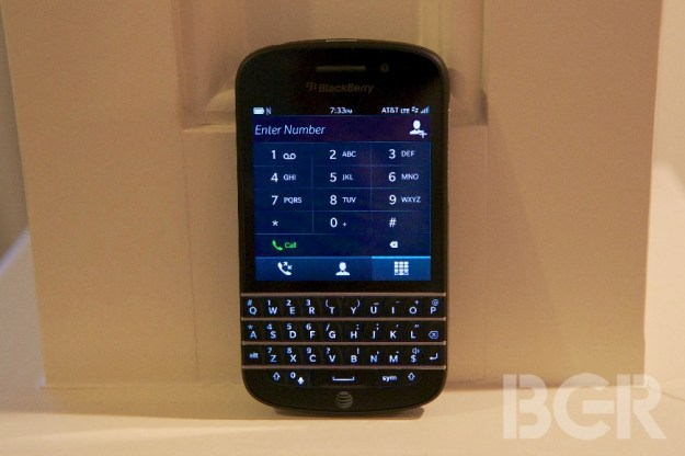 BlackBerry U.S. Market Share