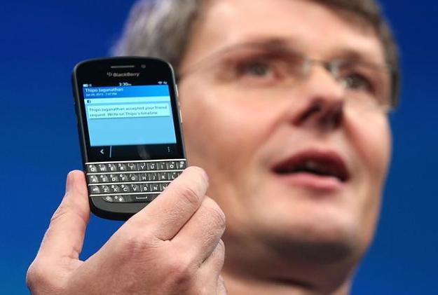 BlackBerry Executives Quit