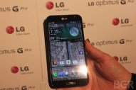 Optimus G Pro hands-on - Image 1 of 7
