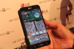 Optimus G Pro Hands-on