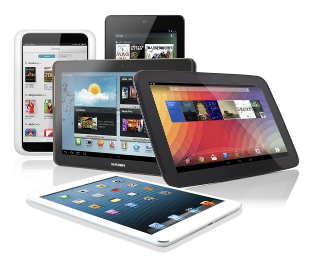 Tablet Shipments Q4 2013