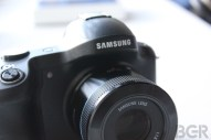Samsung Galaxy NX hands-on - Image 2 of 7