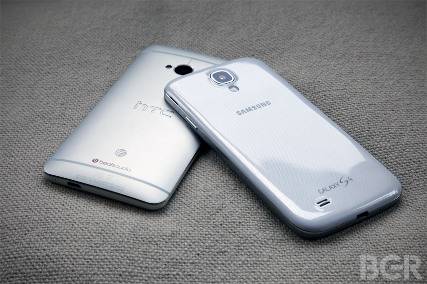 Galaxy S4 Vs HTC One Review