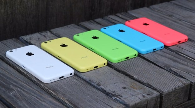 iPhone 5C Hands-on Video