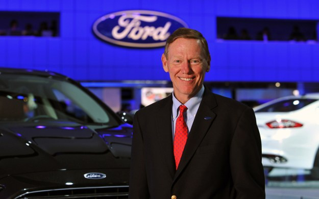 Microsoft CEO Candidate Mulally Staying At Ford